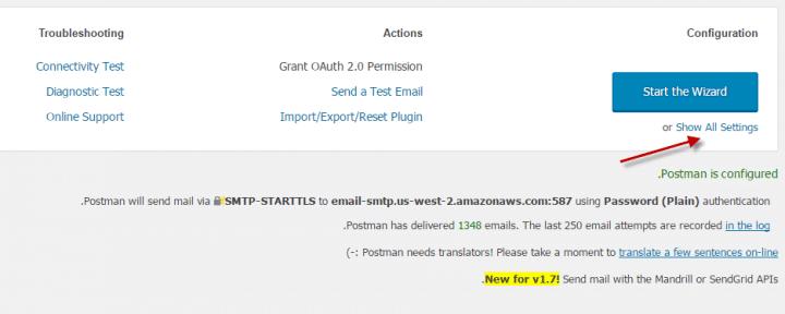 كيفية إرسال ايميل فى ووردبريس باستخدام SMTP 8