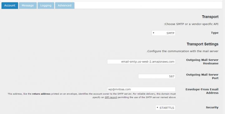 كيفية إرسال ايميل فى ووردبريس باستخدام SMTP 9
