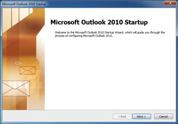 كيفية الدخول على البريد الألكترونى عبر (OutLook) اصدار 2010 1
