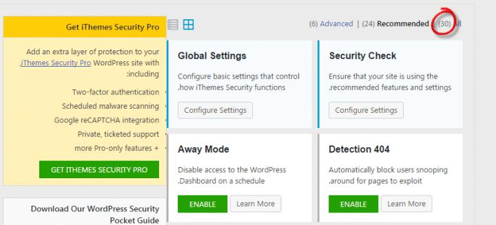 كيفية تامين موقعك وردبرس باستخدام اضافة ithemes security (Wordpress) 7