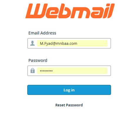كيفية الدخول على البريد الألكترونى باستخدام (Web Mail) 1